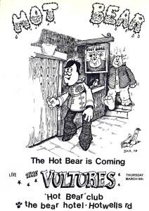Hot-Bear-Vultures-Poster