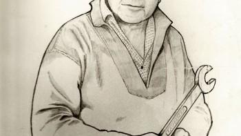 John Lavender ( Pencil Drawing )